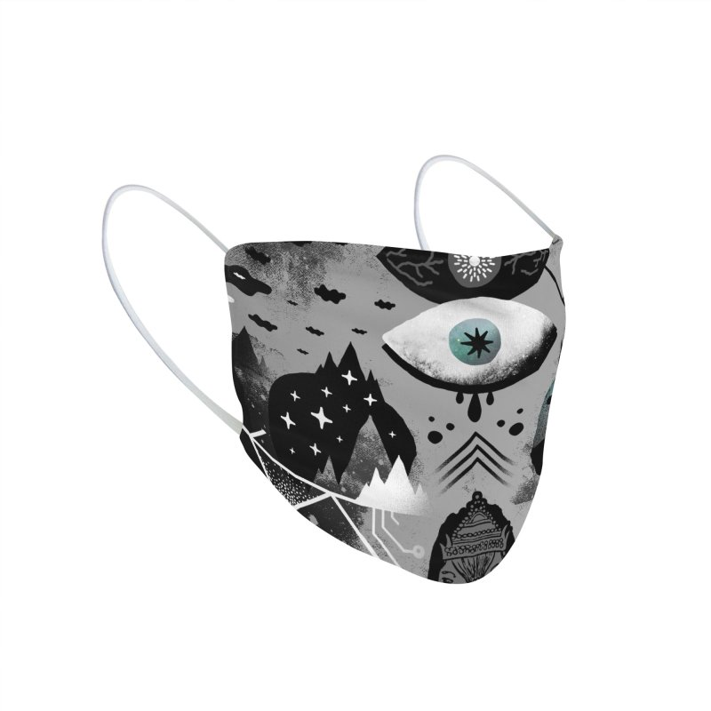 Old Gods, New Demons Accessories Face Mask by ordinaryfox