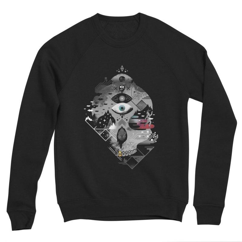Old Gods, New Demons Men's Sponge Fleece Sweatshirt by ordinary fox