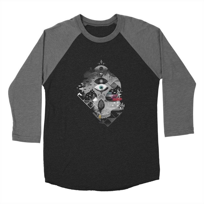 Old Gods, New Demons Men's Baseball Triblend Longsleeve T-Shirt by