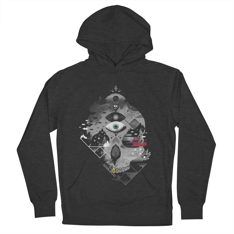 Old Gods, New Demons Men's French Terry Pullover Hoody by ordinary fox