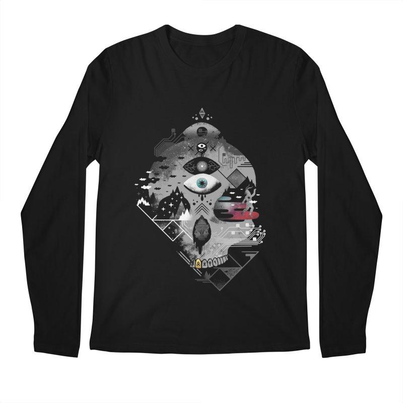 Old Gods, New Demons Men's Regular Longsleeve T-Shirt by ordinary fox