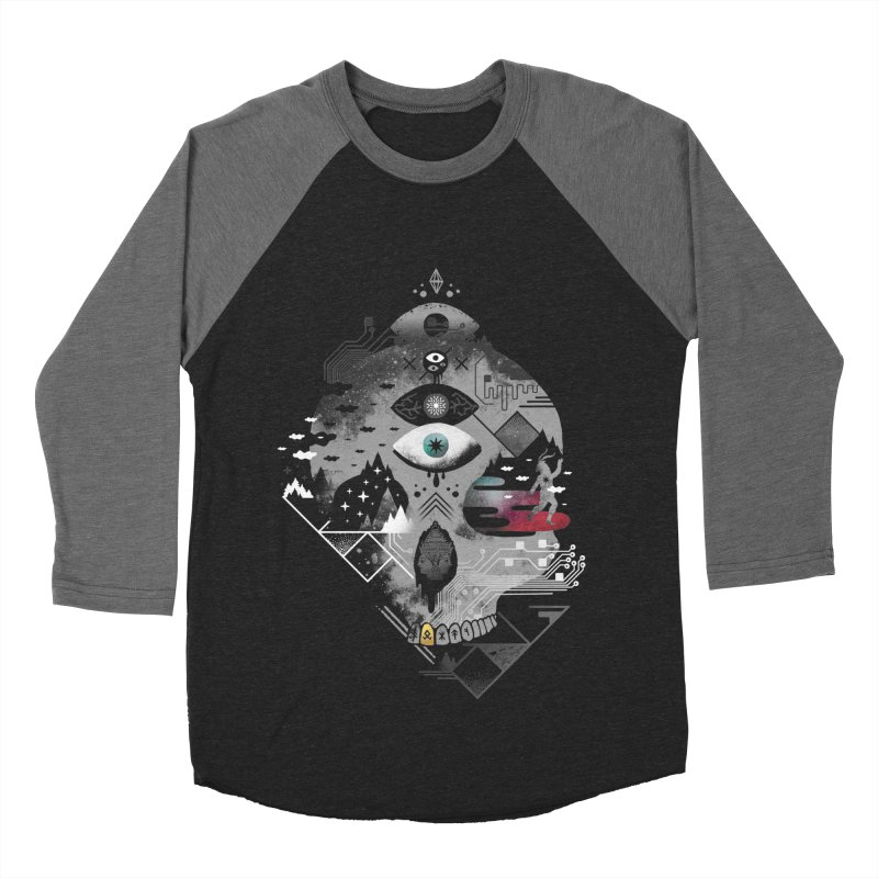 Old Gods, New Demons Men's Baseball Triblend Longsleeve T-Shirt by ordinary fox