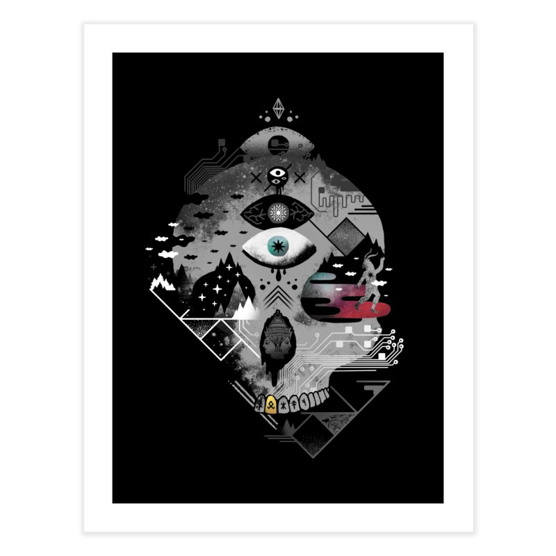 Old Gods, New Demons Home Fine Art Print by