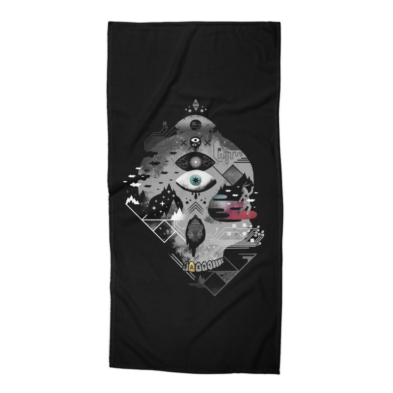 Old Gods, New Demons Accessories Beach Towel by ordinary fox