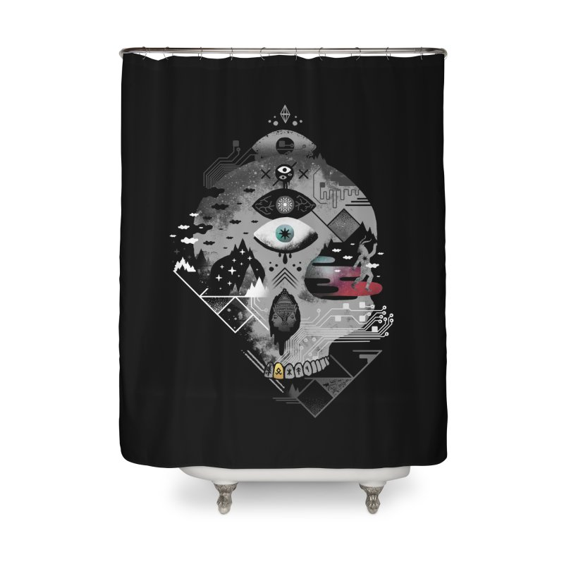 Old Gods, New Demons Home Shower Curtain by ordinary fox