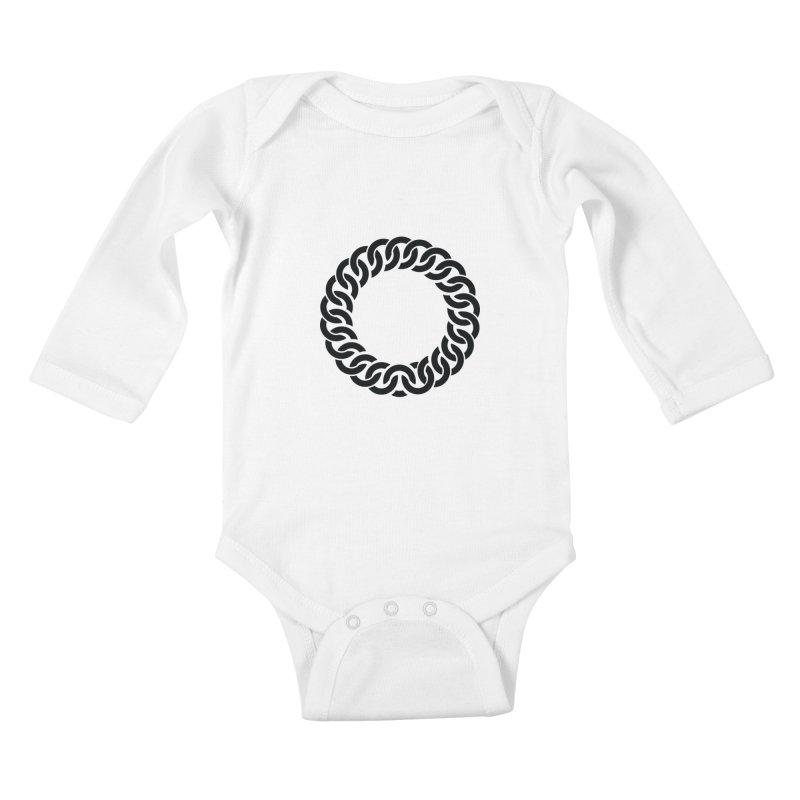 Bracelet Kids Baby Longsleeve Bodysuit by orginaljun's Artist Shop