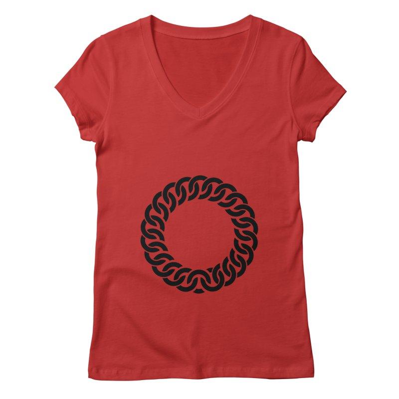 Bracelet Women's V-Neck by orginaljun's Artist Shop
