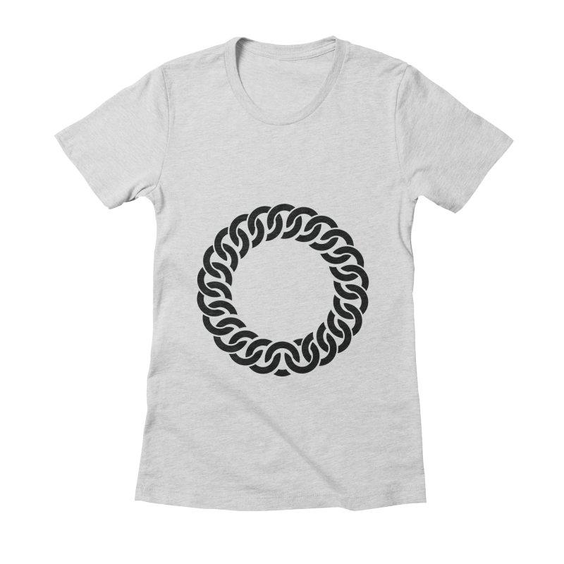 Bracelet Women's Fitted T-Shirt by orginaljun's Artist Shop