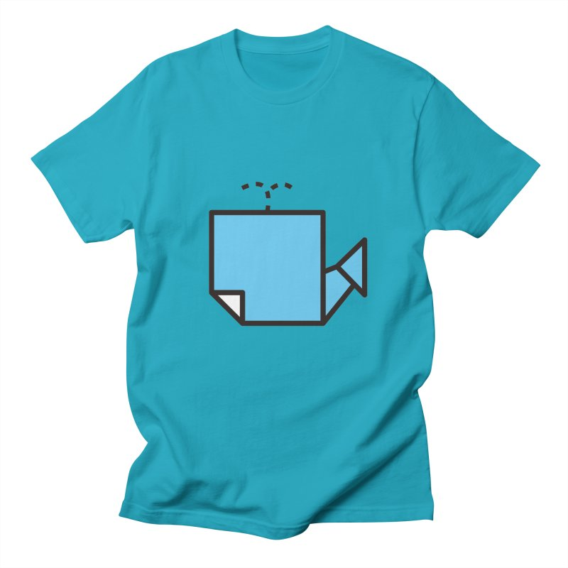 Origami Whale Men's T-Shirt by ORIGAMI