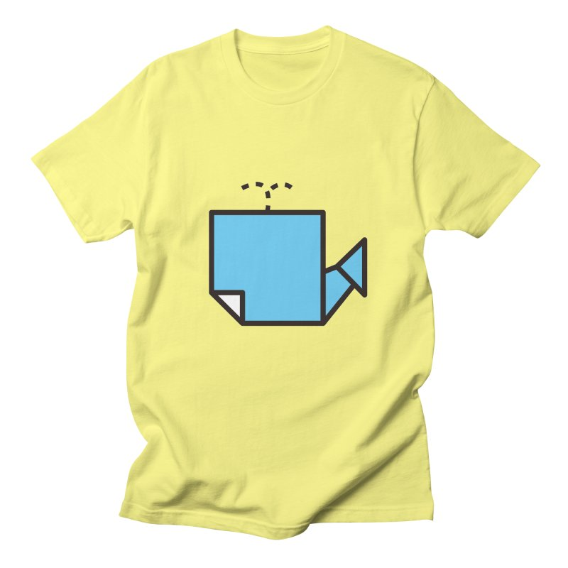 Origami Whale Men's T-shirt by origami's Artist Shop
