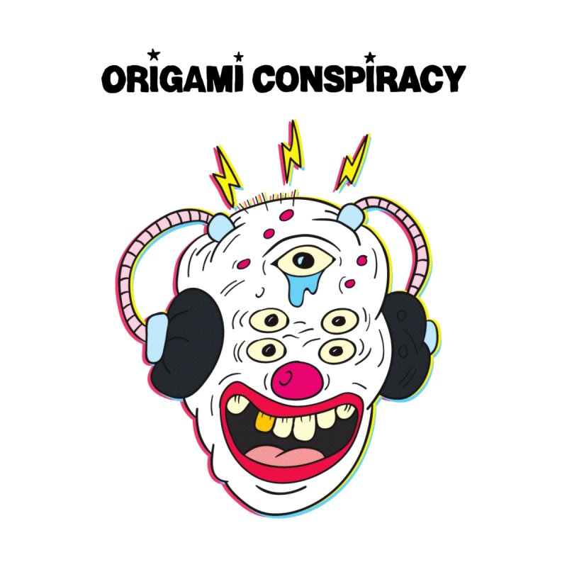 Buzz Clown by Origami Conspiracy Merch