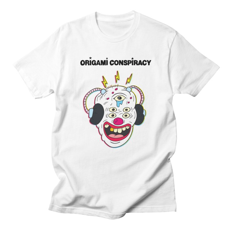 Buzz Clown in Men's Regular T-Shirt White by Origami Conspiracy Merch