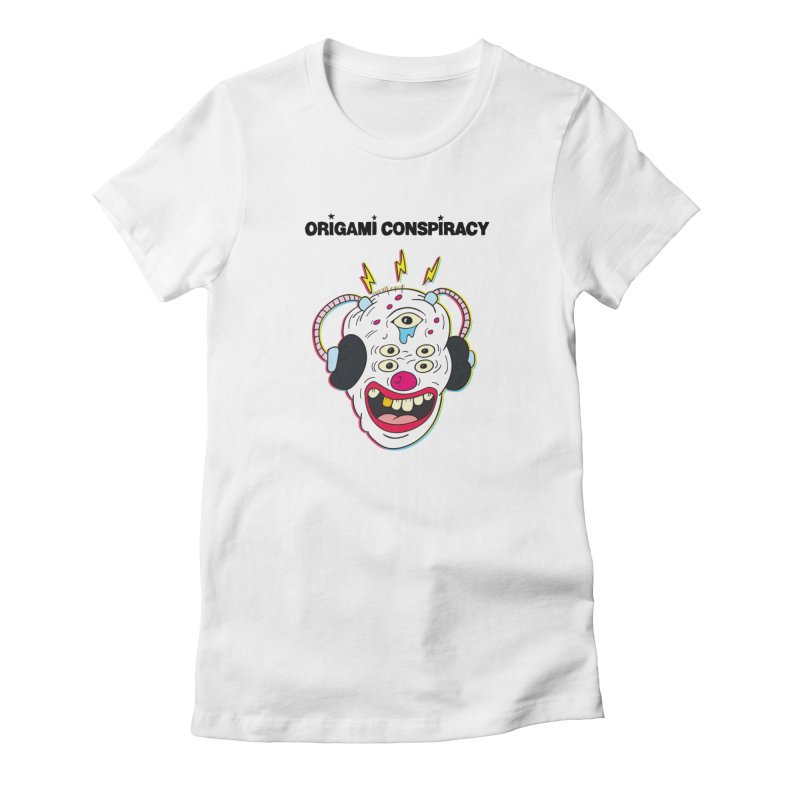 Buzz Clown Women's T-Shirt by Origami Conspiracy Merch