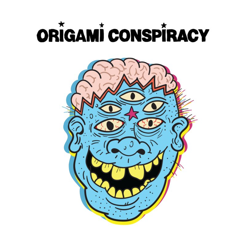 Blue Boy by Origami Conspiracy Merch