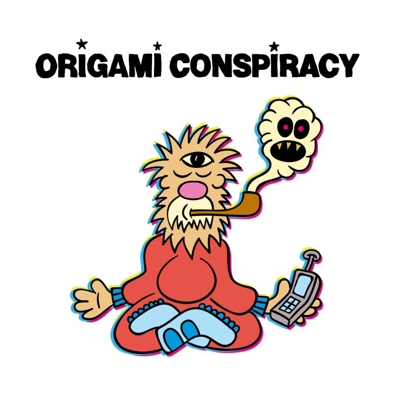 WIFI Guru None  by Origami Conspiracy Merch