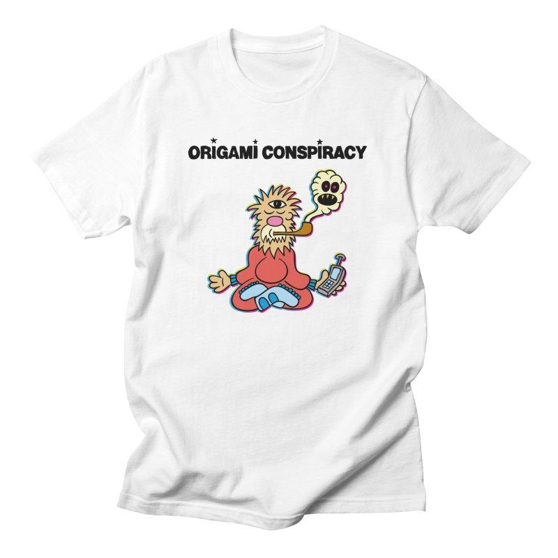 WIFI Guru Men's T-Shirt by Origami Conspiracy Merch