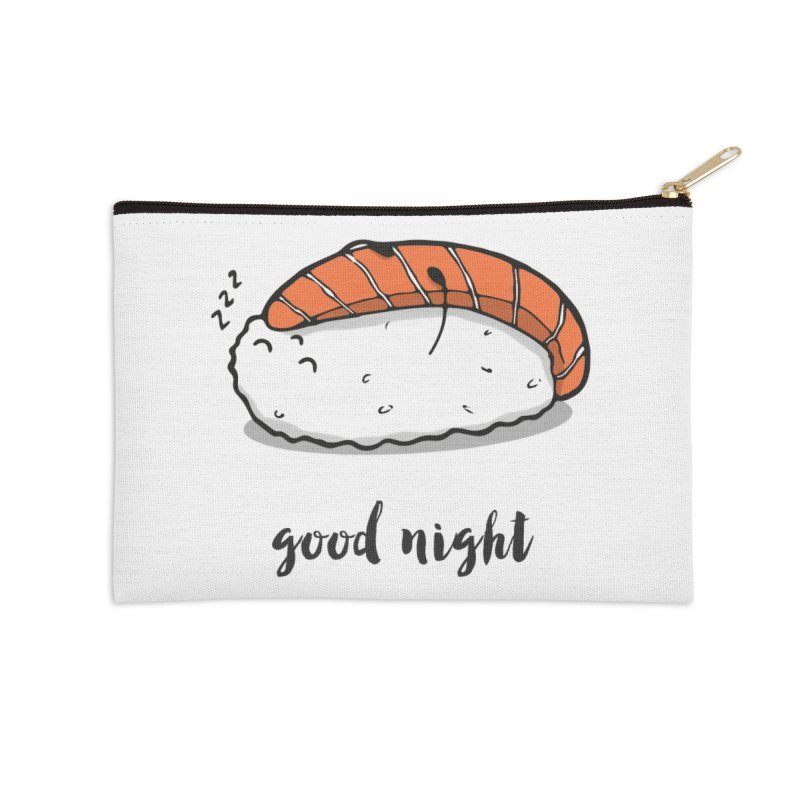 Good night sushi Accessories Zip Pouch by Origami Studio