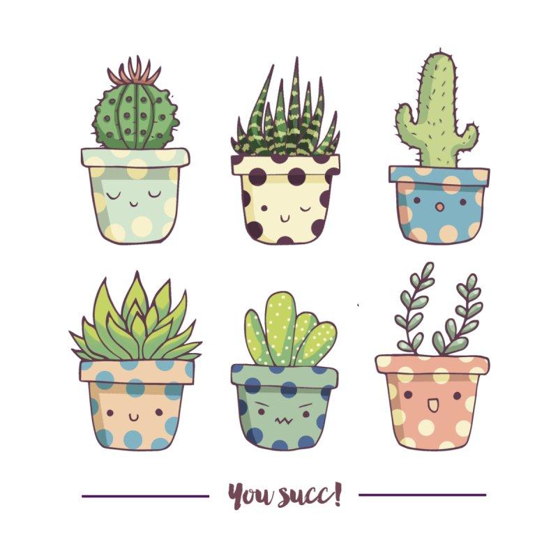 You succ! Cute succulents by Origami Studio