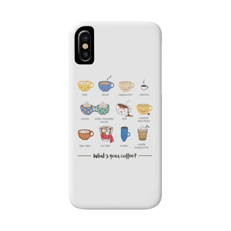 Coffee time! Accessories Phone Case by Origami Studio