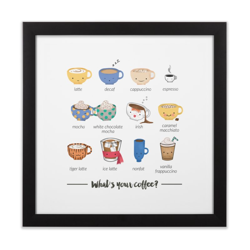 Coffee time! Home Framed Fine Art Print by Origami Studio