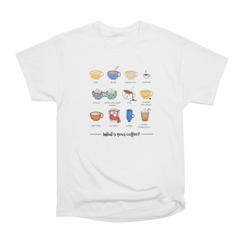 Coffee time! Men's Heavyweight T-Shirt by Origami Studio