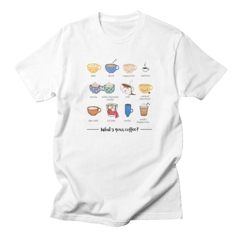 Coffee time! Men's Regular T-Shirt by Origami Studio