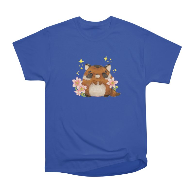 Cute little racoon Women's Heavyweight Unisex T-Shirt by Origami Studio