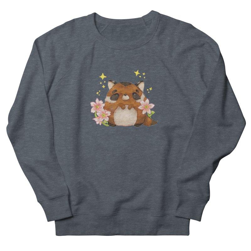 Cute little racoon Women's French Terry Sweatshirt by Origami Studio