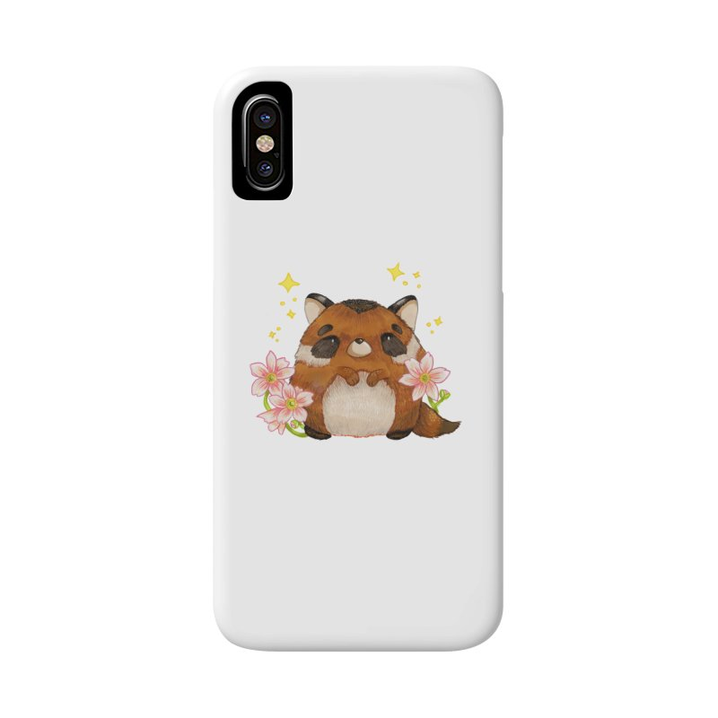 Cute little racoon Accessories Phone Case by Origami Studio