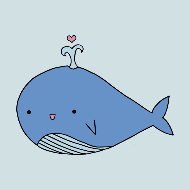Happy Whale None  by Origami Studio