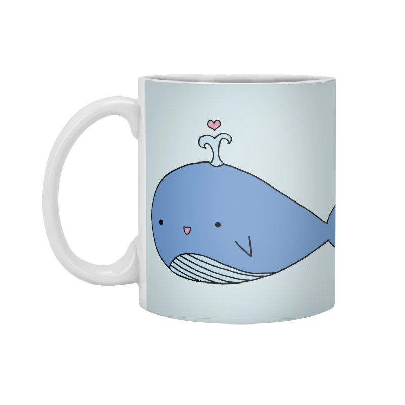 Happy Whale Accessories Standard Mug by Origami Studio