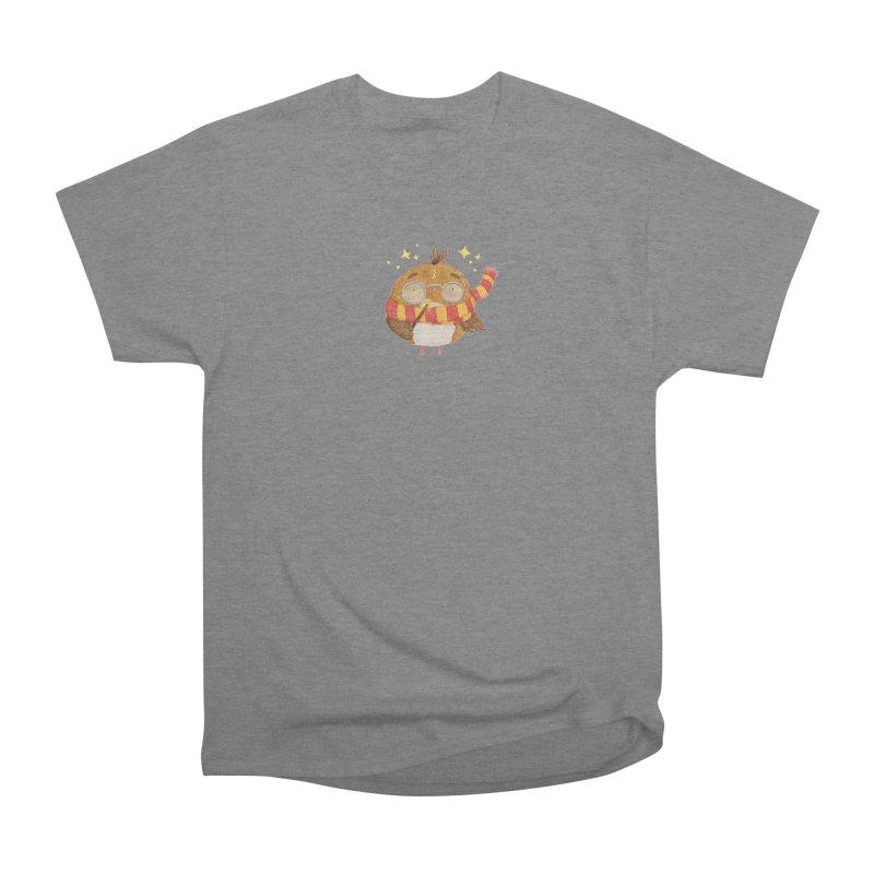 Little Harry Owl Women's Heavyweight Unisex T-Shirt by Origami Studio