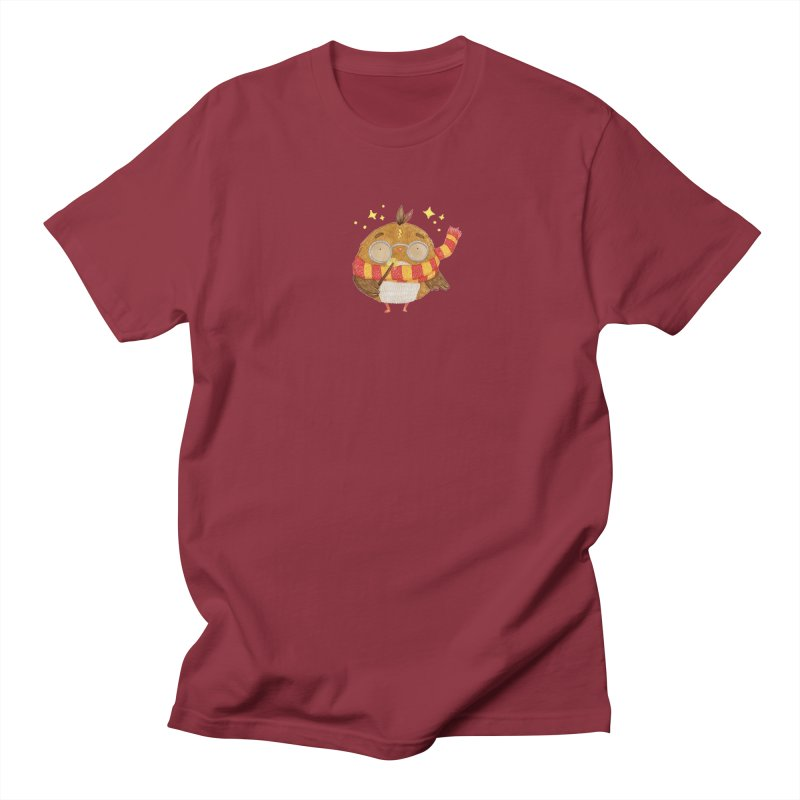 Little Harry Owl Women's Regular Unisex T-Shirt by Origami Studio