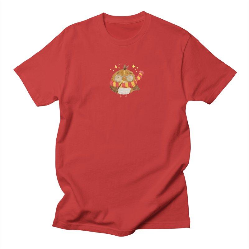 Little Harry Owl Women's Regular Unisex T-Shirt by Origami Studio