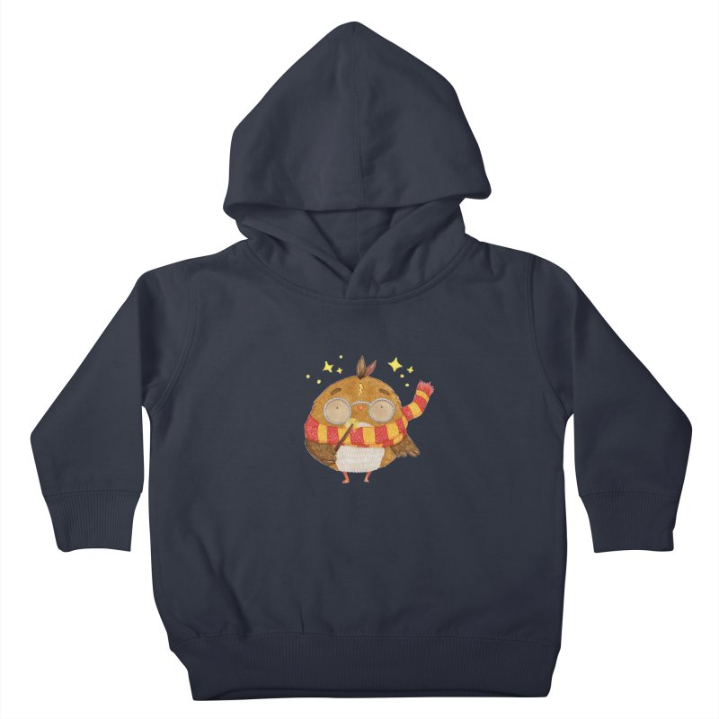 Little Harry Owl Kids Toddler Pullover Hoody by Origami Studio