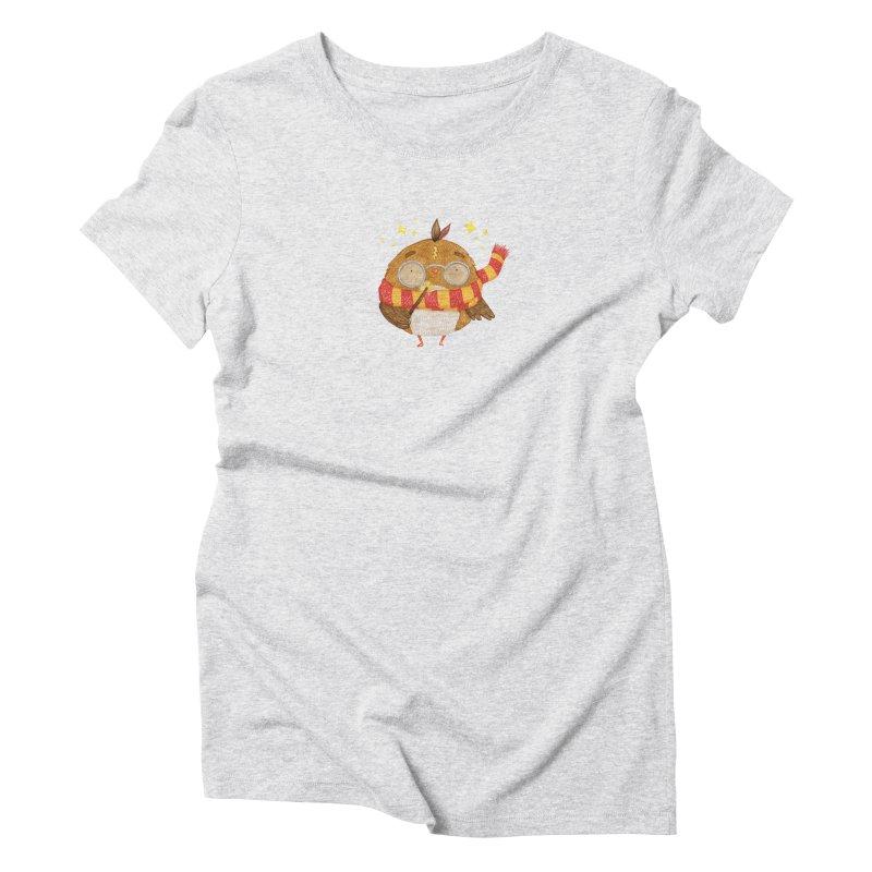 Little Harry Owl Women's T-Shirt by Origami Studio