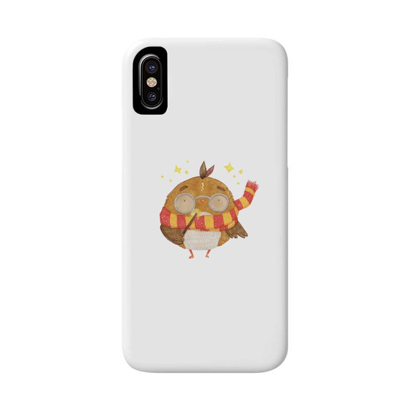 Little Harry Owl Accessories Phone Case by Origami Studio