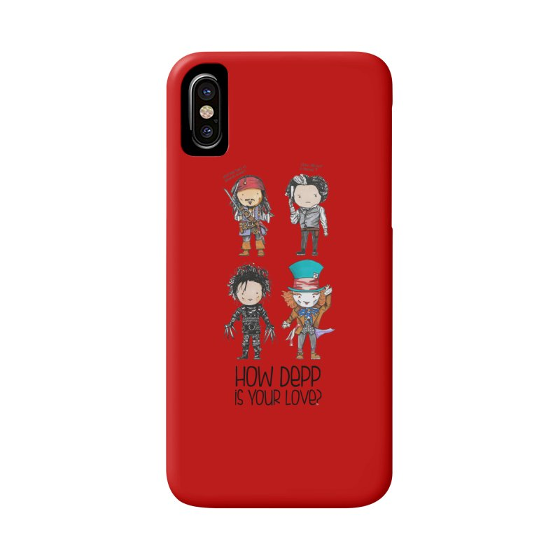 How Depp is your love? Accessories Phone Case by Origami Studio