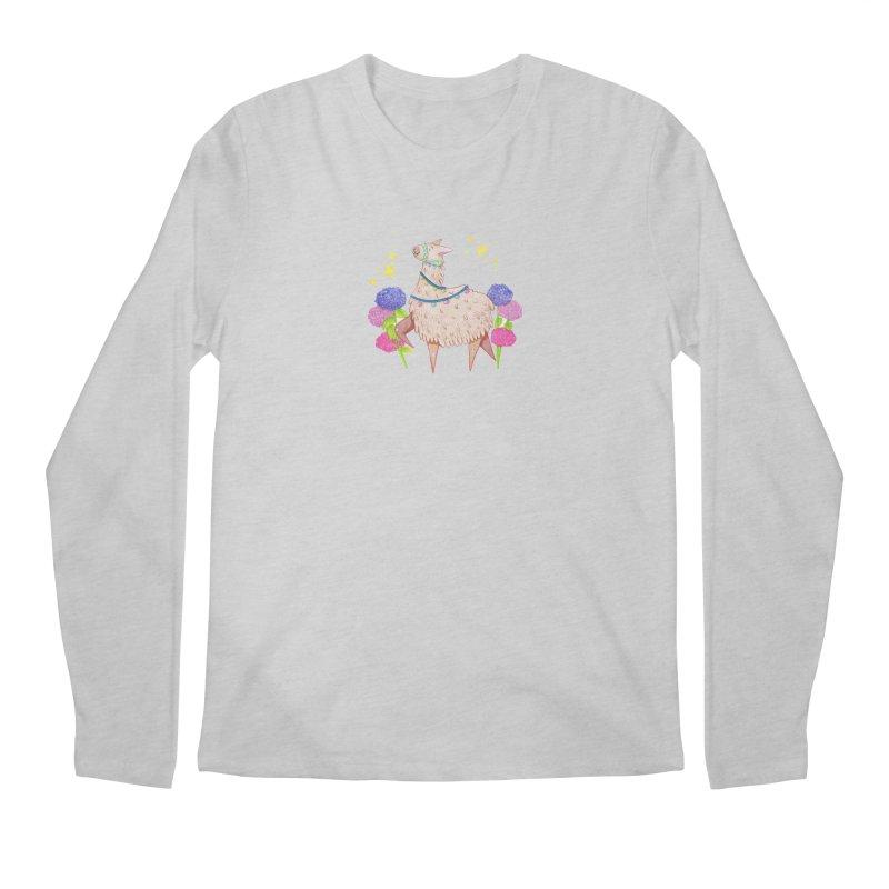 Drama Lama Men's Regular Longsleeve T-Shirt by Origami Studio
