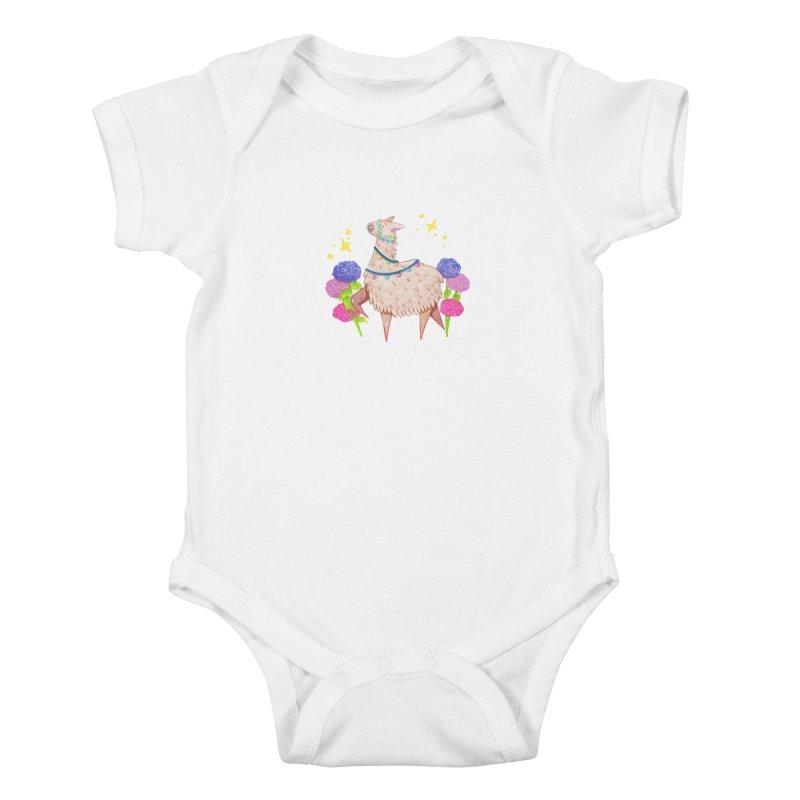 Drama Lama Kids Baby Bodysuit by Origami Studio
