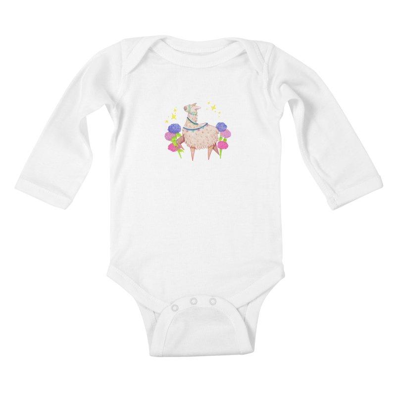 Drama Lama Kids Baby Longsleeve Bodysuit by Origami Studio