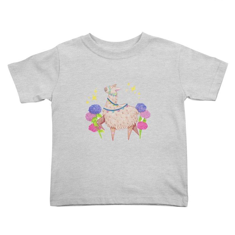 Drama Lama Kids Toddler T-Shirt by Origami Studio