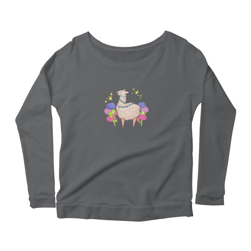 Drama Lama Women's Longsleeve T-Shirt by Origami Studio