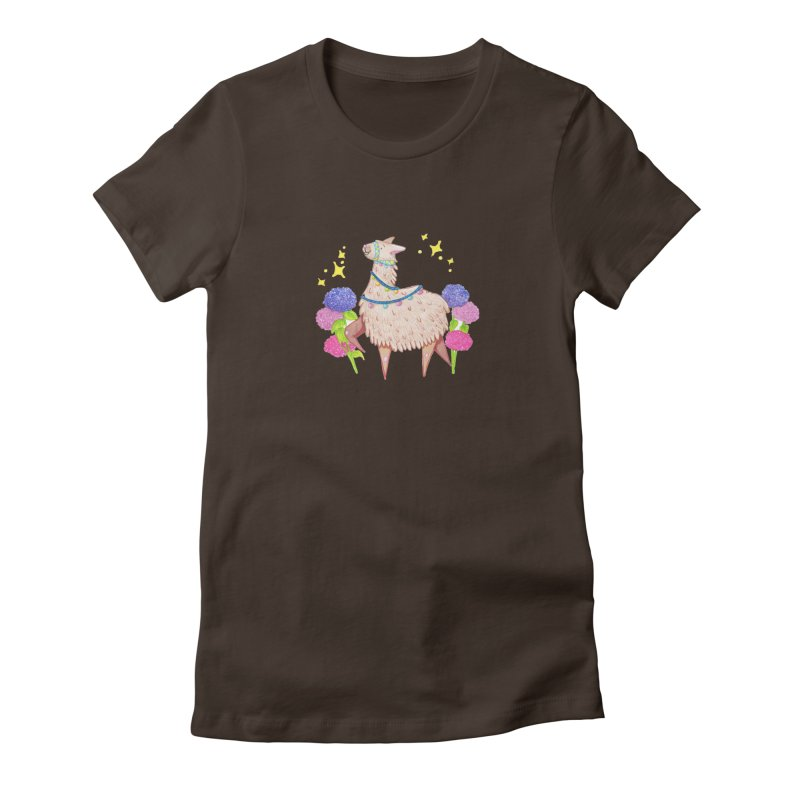 Drama Lama Women's Fitted T-Shirt by Origami Studio