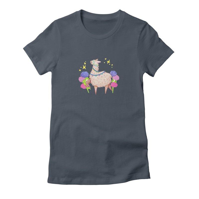 Drama Lama Women's T-Shirt by Origami Studio