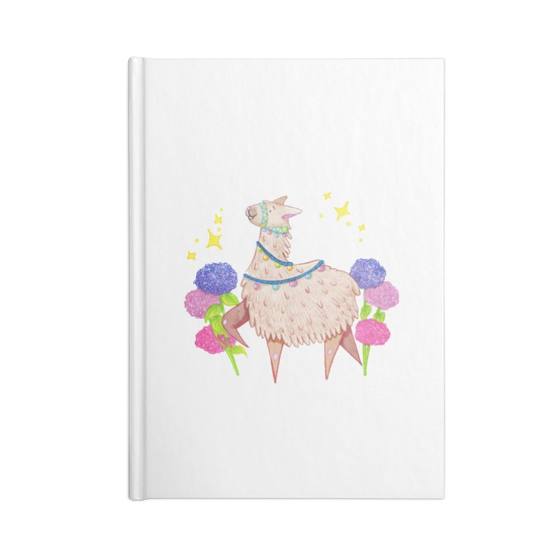 Drama Lama Accessories Blank Journal Notebook by Origami Studio