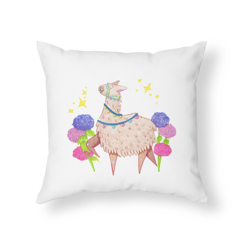 Drama Lama Home Throw Pillow by Origami Studio