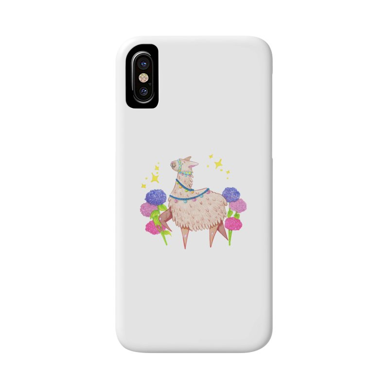 Drama Lama Accessories Phone Case by Origami Studio