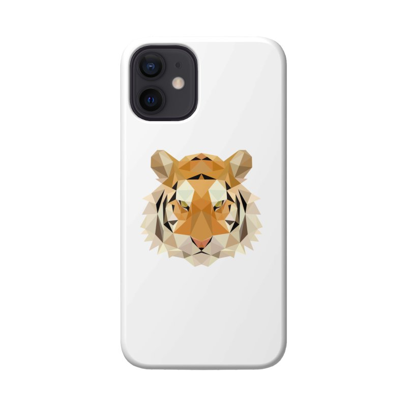 Low poly tiger Accessories Phone Case by Origami Studio