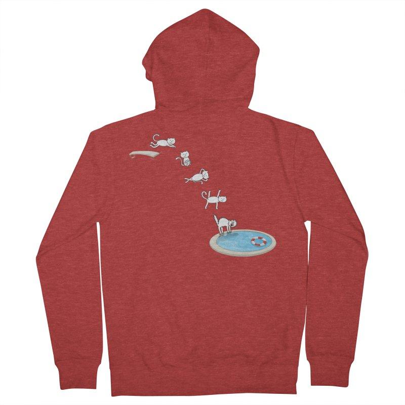 LET'S SWIMMM! =^.^= Women's Zip-Up Hoody by Origine's Shop